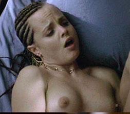 Nudity in movie scenes, woman bathroom naked
